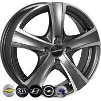 Литые диски Zorat Wheels 9504 R15 W6 PCD4x100 ET44 DIA56.6 MK-P
