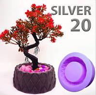 Силикон для форм заливочный Silver20 NEW (упаковка 1кг)