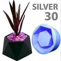 Силикон для форм заливочный Silver30 NEW (упаковка 1кг)