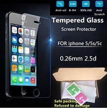 Защитное стекло для айфона 5