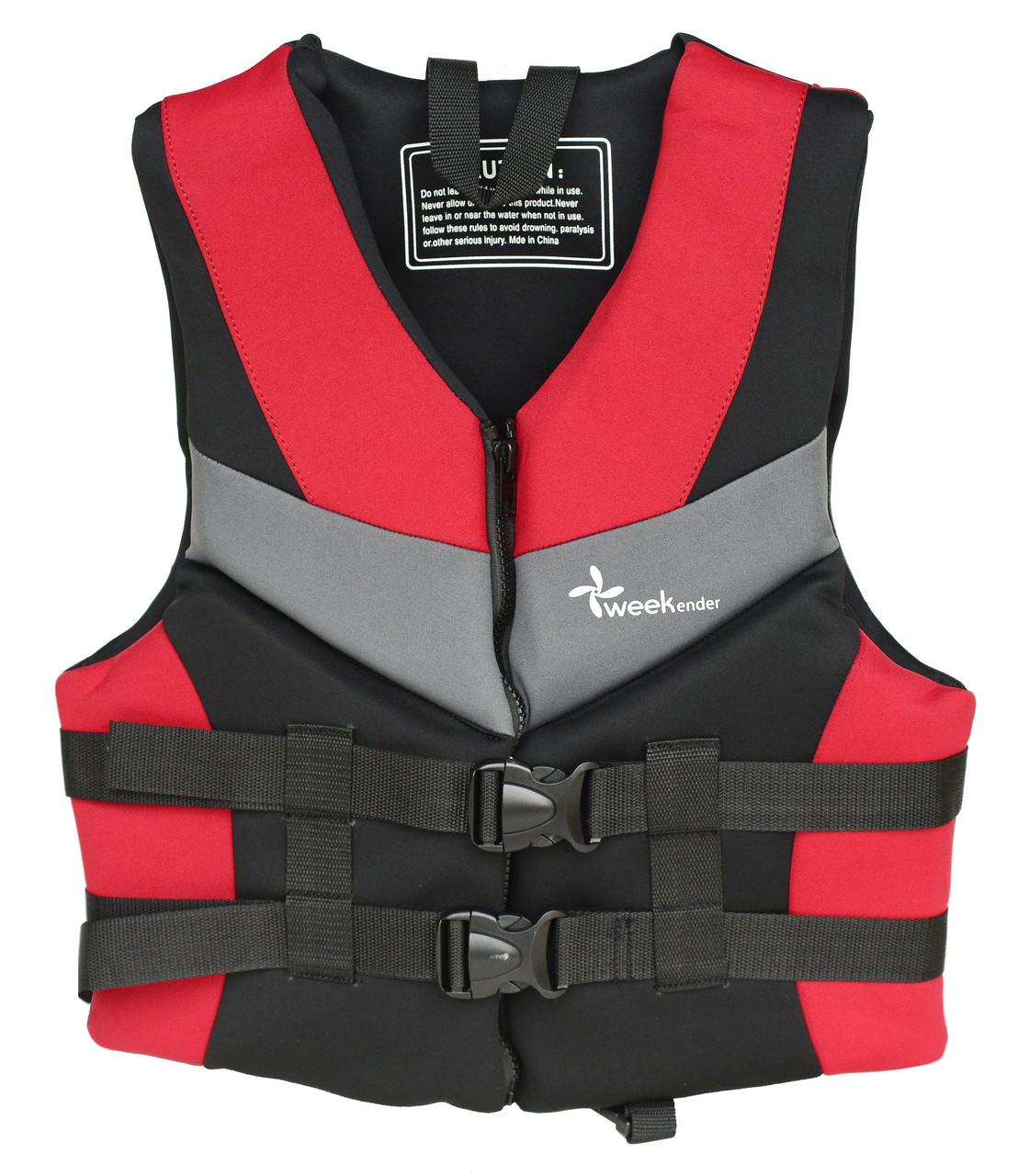 Спасательный жилет водный S неопрен YW1102 для лодки, катера, яхты