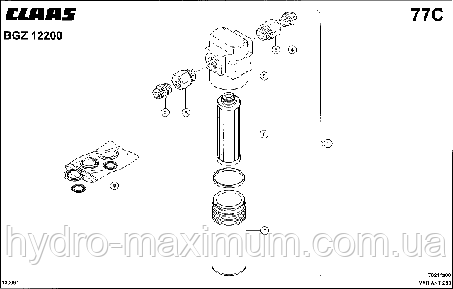 ФИЛЬТР - CLAAS VARIANT 280 / 280RC