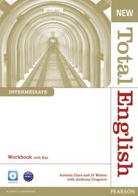 New Total English Intermediate Workbook with Key and Audio CD (Рабочая тетрадь), фото 2