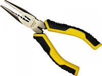 Тонкие кованые длинногубцы  Stanley Control-Grip 150мм/200мм