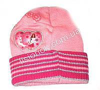Розовая шапка Beauty Барби 48-52см
