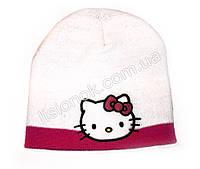 Белая шапка Hello Kitty 50-52см