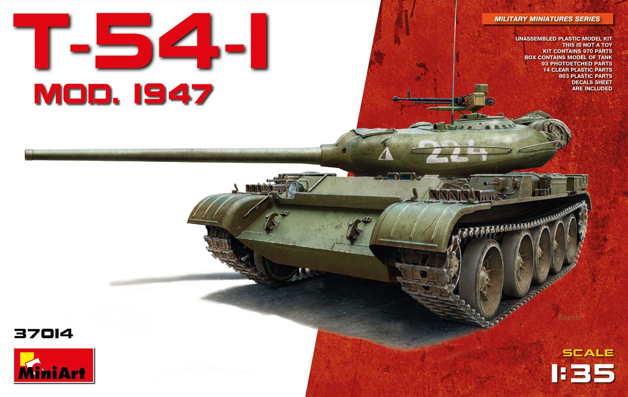 T-54-1 Советский средний танк Обр. 1947 г. 1/35 MINIART 37014