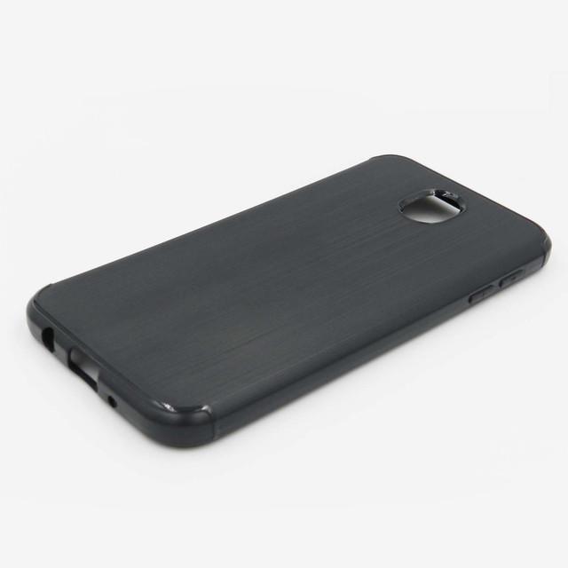 чохол на Samsung Galaxy J5 2017 J530 силіконовий чорний метал