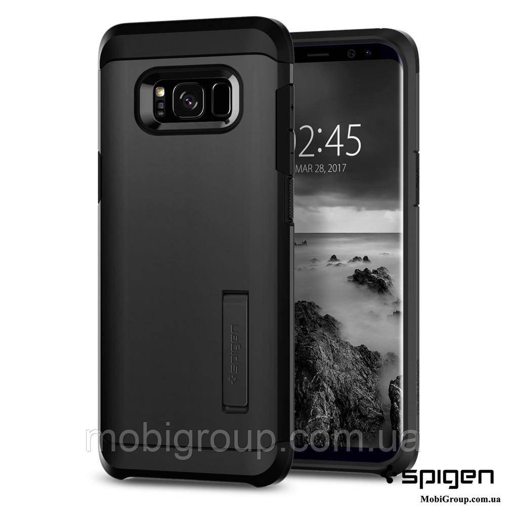 Чехол Spigen для Samsung S8 Tough Armor, Black