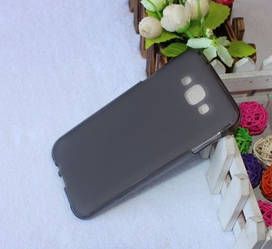 Силиконовый чехол Samsung Galaxy E7 E700h (TPU бампер) (Самсунг Е7 Е700)