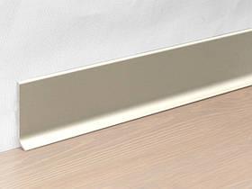 Металлический плинтус Profilpas Metal Line 90/6 анодироованный алюминий, титан 10*60*2000 мм.