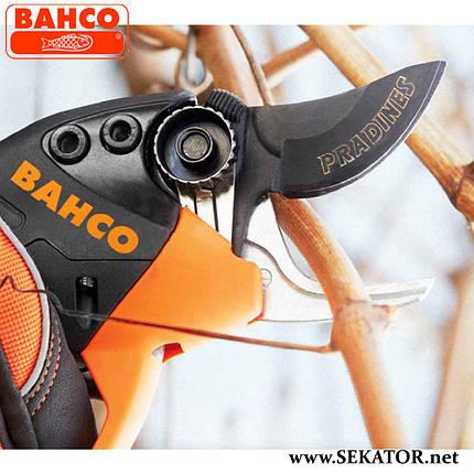 Електричний секатор Bahco BCL21 (Франція), фото 2