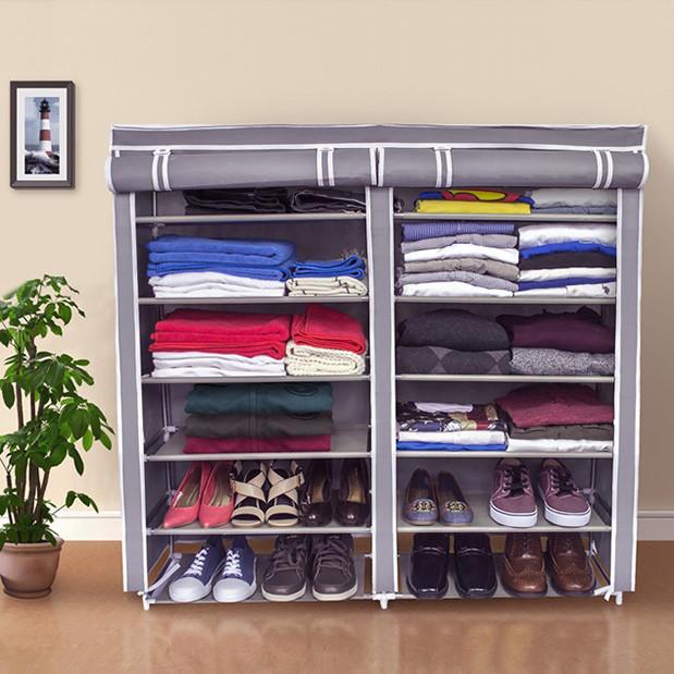 Тканинний шафка для взуття 4509