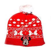 Красная шапка с Минни-Маус 52-54см