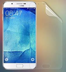 Защитная пленка Samsung Galaxy A8 A800h глянцевая (Самсунг А8 А800)
