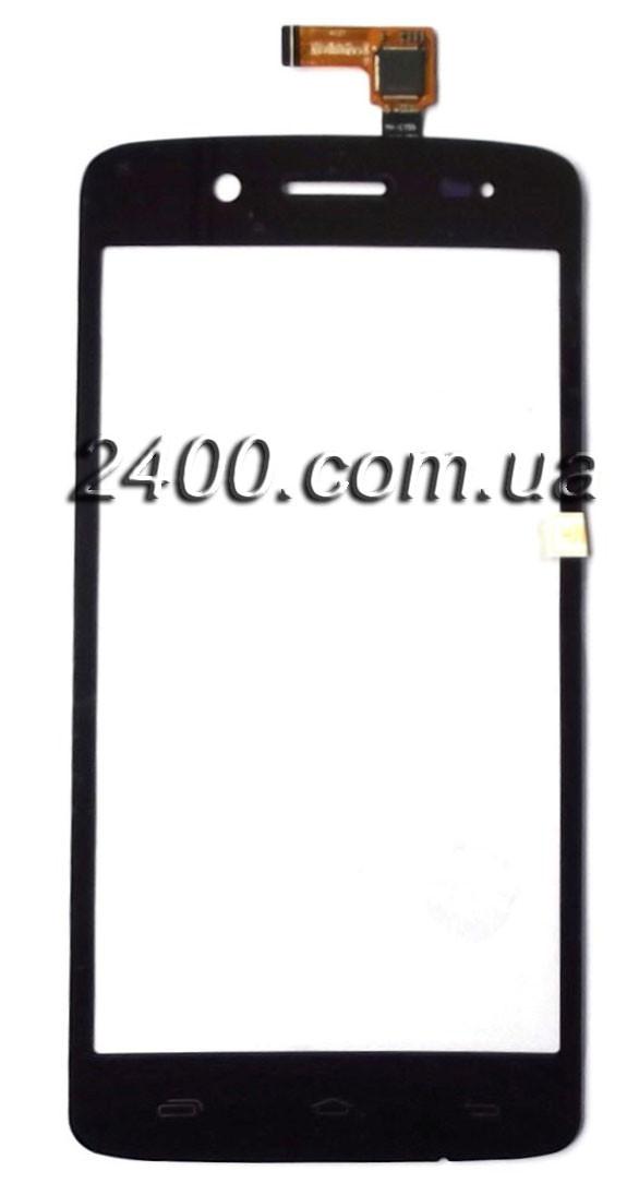 Сенсор телефону Prestigio 5507 (PAP 5507) - тачскрін для Prestigio MultiPhone 5507 Duo (Престижіо 5507) чорний