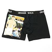 Мужские трусы черные Orange Walk art. 0062