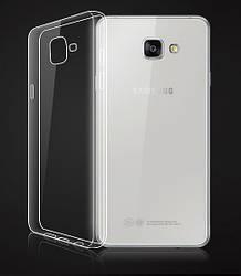 Прозрачный Чехол Samsung Galaxy A3 2016 A310 (ультратонкий силиконовый) (Самсунг А3 16 А310)