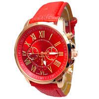 Женские часы Geneva Uno Red