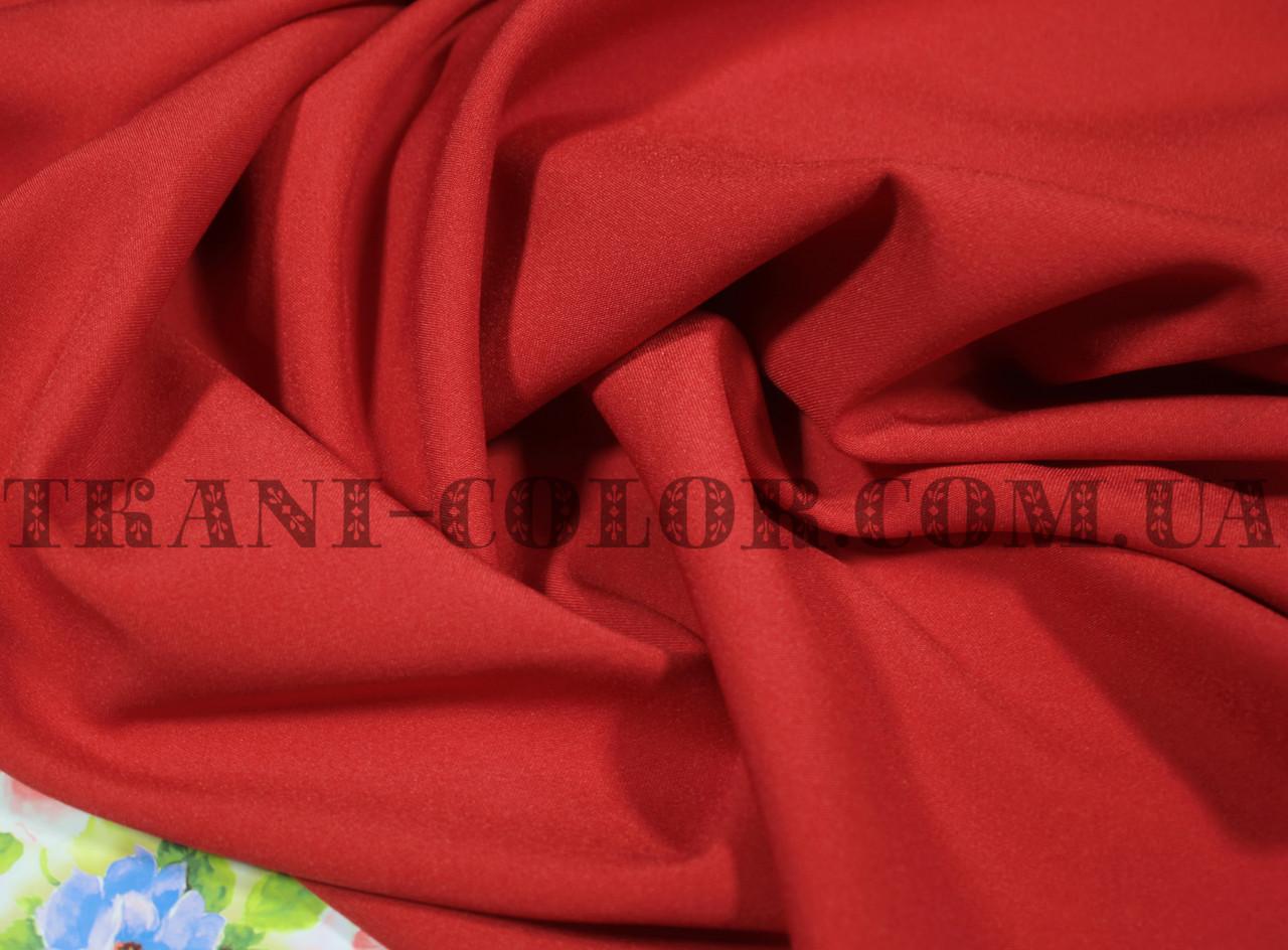 Костюмная ткань мадонна красная