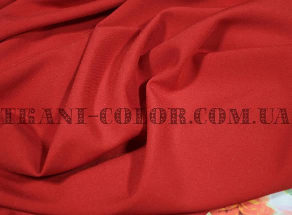 Костюмная ткань мадонна красная, фото 2