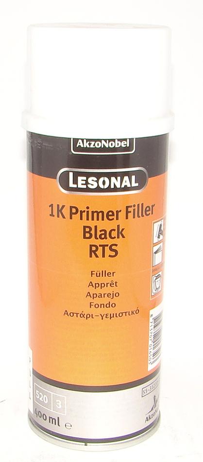 Грунт Lesonal 1K PRIM FIL RTS BLACK AERO  0,4л
