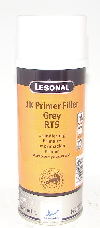 Грунт Lesonal 1K PRIM FIL RTS GREY AERO 0,4л