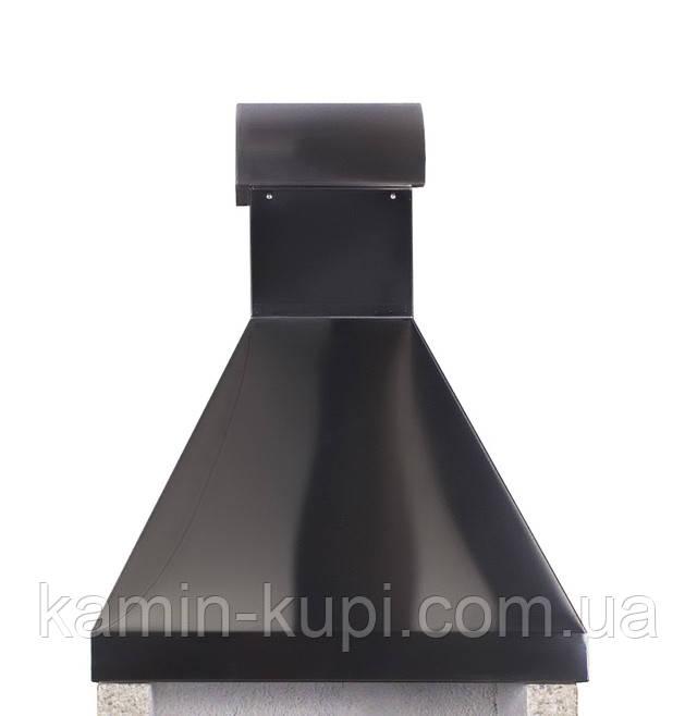 Дымосборник из черной стали для барбекю Stimlex Steel