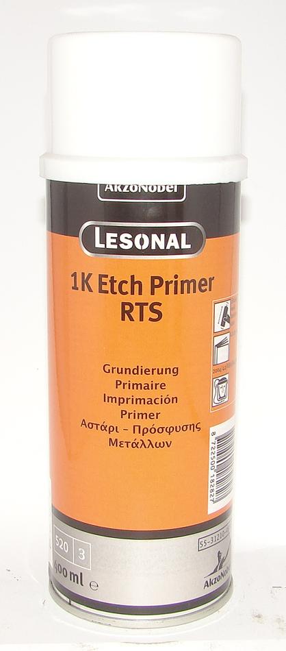Грунт травящий Lesonal 1K ETCH PRIM RTS AERO 0,4л