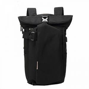 Мужской рюкзак Ozuko антивор черный eps-7019