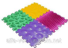 Орто Пазлы - Микс 2, Массажные коврики,Ортопедические коврики, коврик детский
