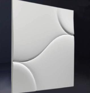 """Гипсовые 3D панели """"Пуф""""  500х500 мм. New Walls"""