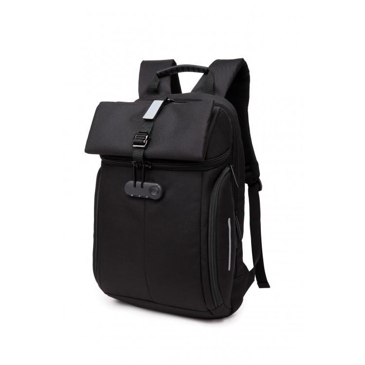 Мужской рюкзак Ozuko черный