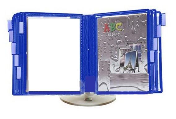 Стойка інформаційна настільна колір синій 100200000/2012/530908 22.02.12