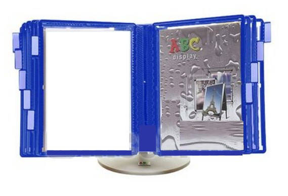 Стойка інформаційна настільна колір синій 100200000/2012/530908 22.02.12, фото 2