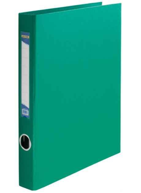 Реєстратор  Buromax, А4 /2D/30мм, PVC, зелений
