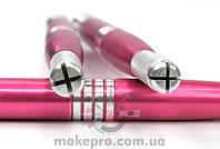 Манипула для микроблейдинга односторонняя для плоских игл (розовая)
