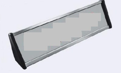 Табличка настольная офисная односторонняя, размер 60х250 мм