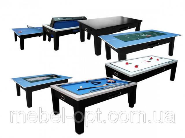 Их осталось немного! Лучший игровой стол 6в1 Tornado!