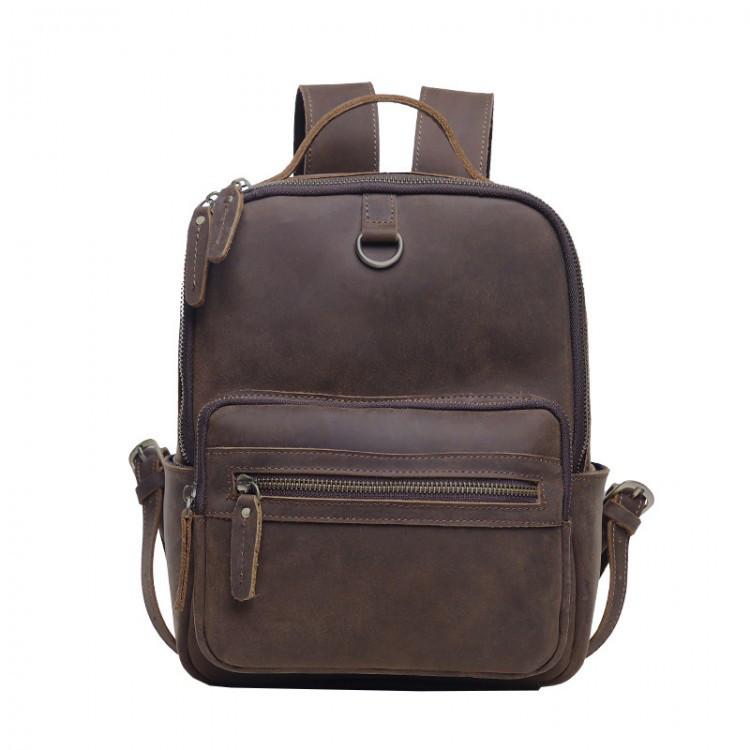 Мужской рюкзак кожаный Texas, ручная работа eps-7001