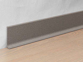 Металевий плінтус Profilpas Metal Line 90/6 фарбований алюміній, антик кам'яно-сірий 10*60*2000 мм.