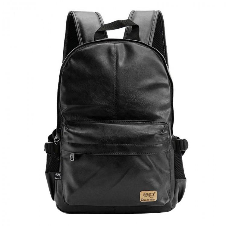 Мужской рюкзак Three-Box черный eps-7021