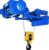 Таль электрическая УСВ тип Т, г/п 3.2 t, высота подъема 6 - 12 m