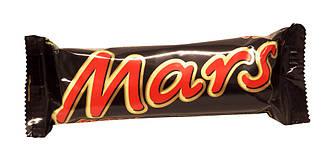 Шоколадный батончик Mars 51г