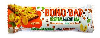 Батончик-мюсли с курагой в глазури Bono Bar 40г