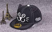 Кепка с прямым козырьком Кот