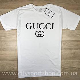 Футболка Gucci белая | Качественная реплика
