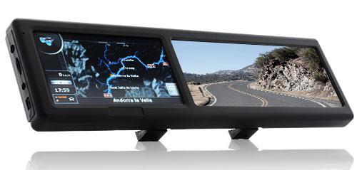 Зеркале заднего вида с GPS Навигатор Bluetooth Оригинал