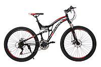 """Велосипед 26"""" Remmy EVEREST 18"""" AM2 DD (черно-красный глянец)"""
