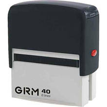 Штамп самонаб.  6 строк CRM.40_DIY ECONOM 59х23 мм (2 каси), економупаковка